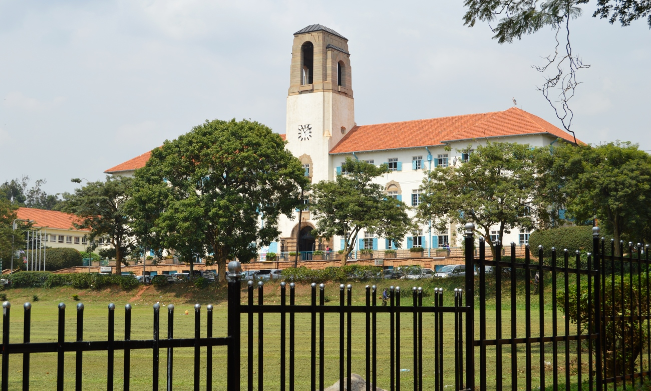 The Main Building and Freedom Square, Makerere University, Kampala Uganda
