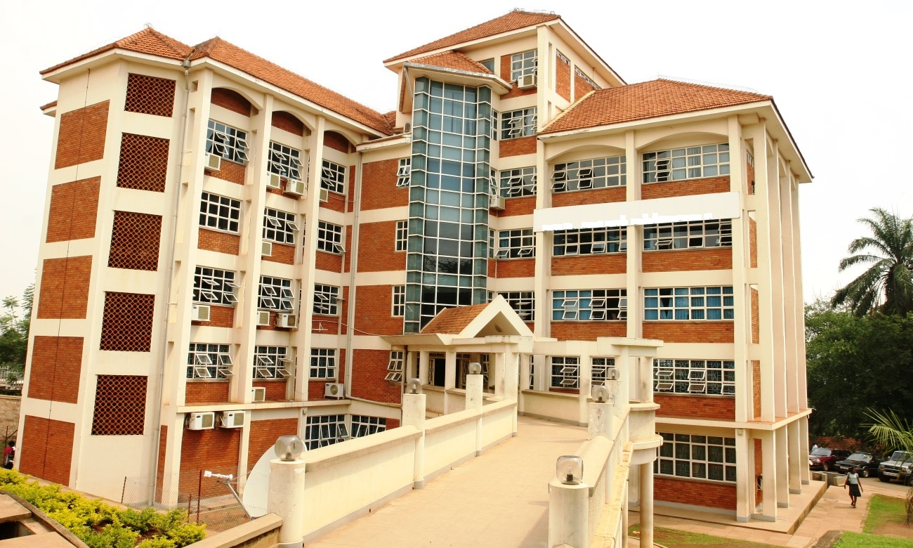 Block A of the College of Computing and Information Sciences (CoCIS), Makerere University, Kampala Uganda