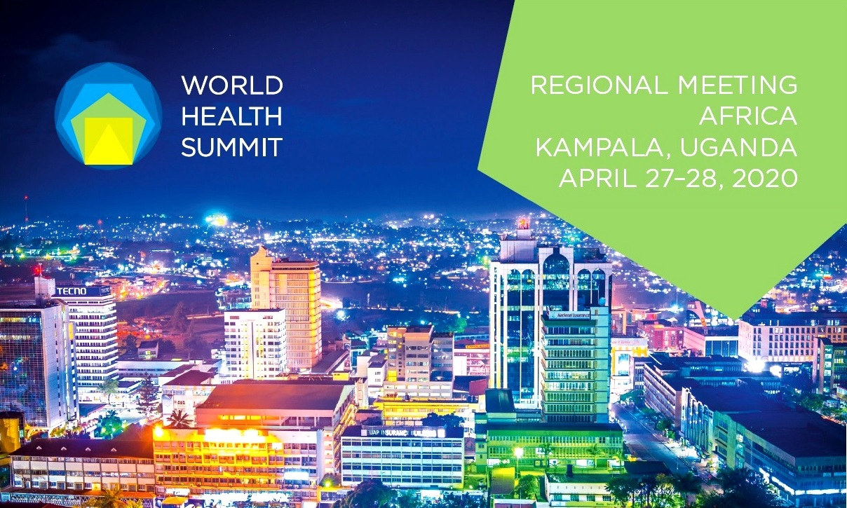 The World Health Summit Regional Meeting April 27th and 28th 2020, Speke Resort & Munyonyo Commonwealth Resort, hosted by Makerere University and the Government of Uganda, Kampala Uganda.