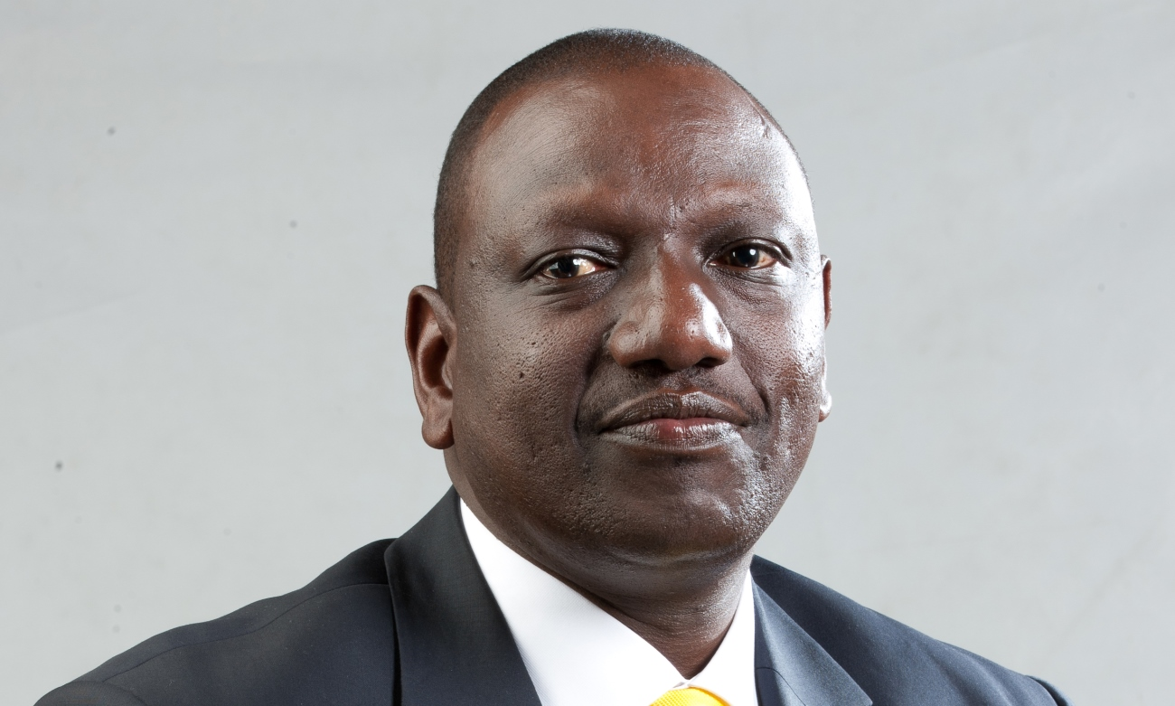 H.E. the Deputy President of the Republic of Kenya - William Samoei Arap Ruto, PhD. Source: Wikimedia Commons, User: Magiondolo