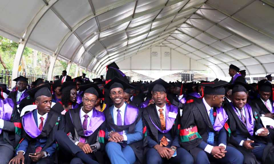 School of Law Graduands during Day 4 of the 70th Graduation Ceremony on 17th January 2020, Freedom Square, Makerere University, Kampala Uganda.