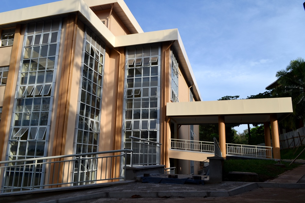 The Central Teaching Facility II, College of Business and Management Sciences (CoBAMS), Makerere University, Kampala Uganda.